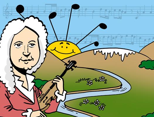 Dibujo Primavera Vivaldi