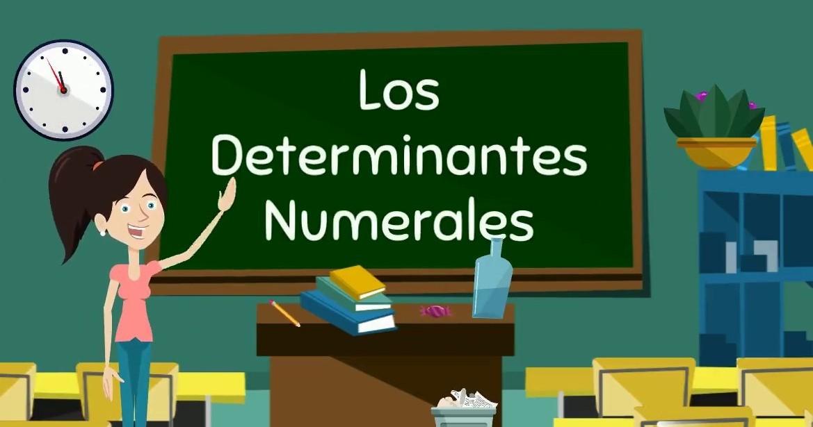 det. numerales