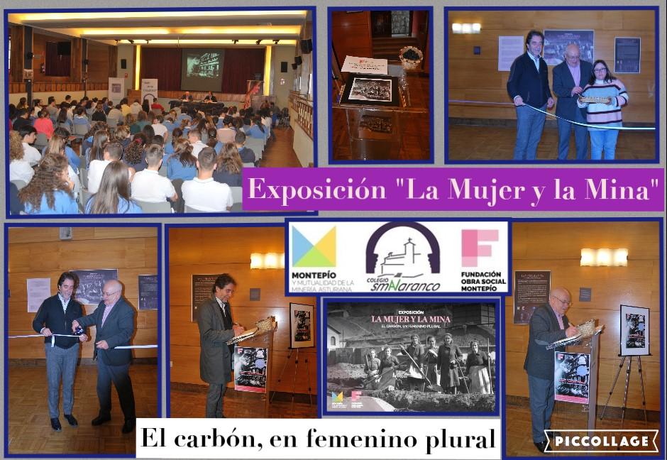 Así fue Exposición Mujer y Mina Colegio Santa María del Naranco