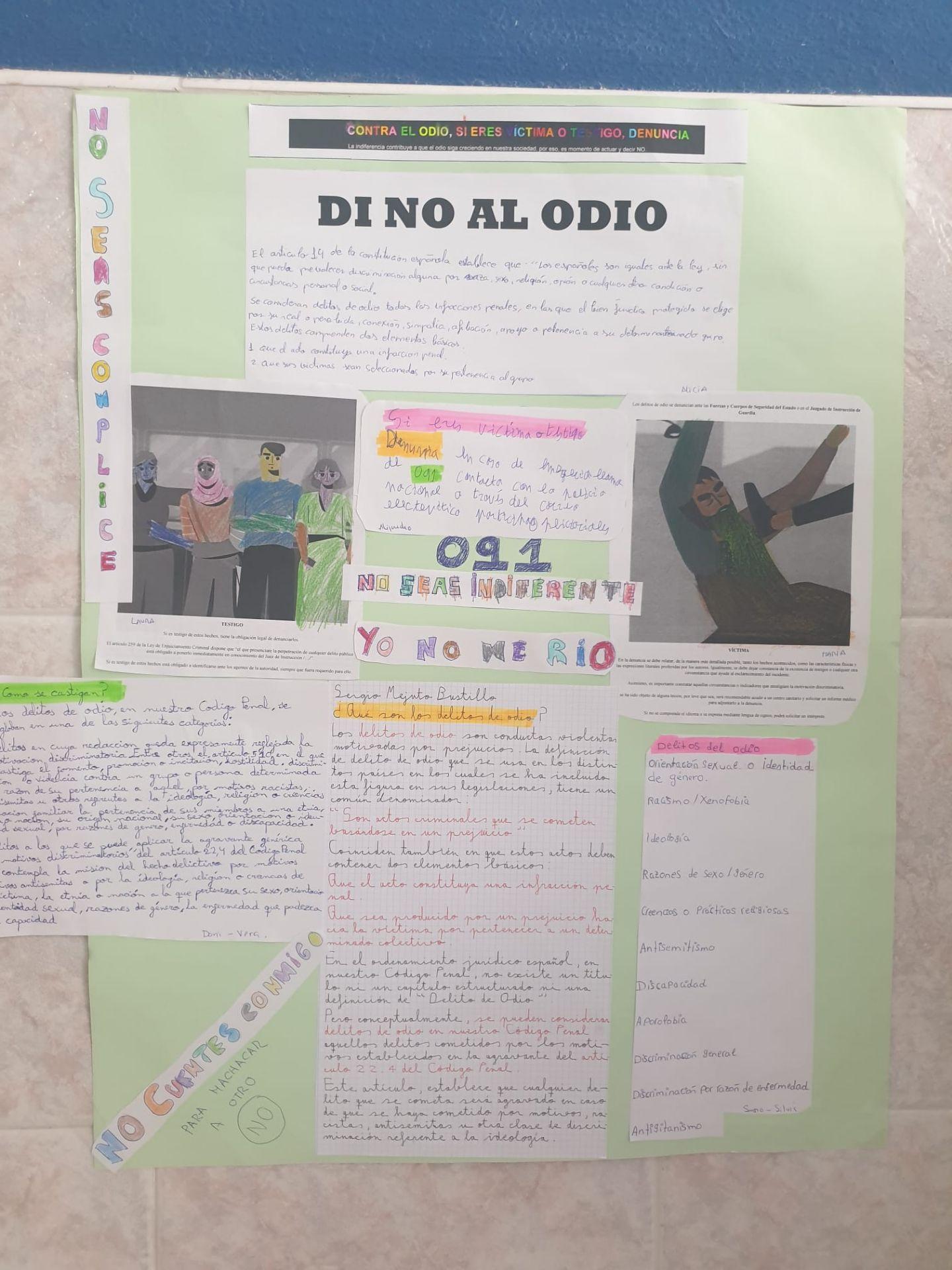 Trabajo elaborado por los alumnos del Programa AVIS