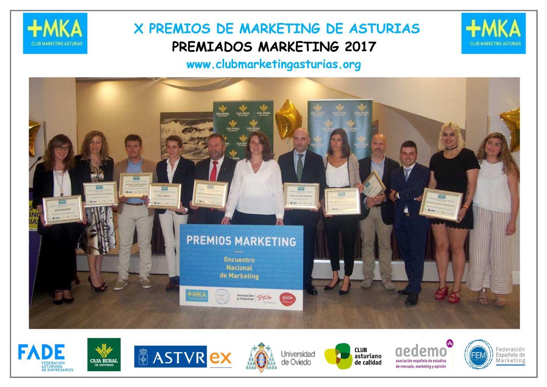 Colegio Sta. María del Naranco Premios Marketing