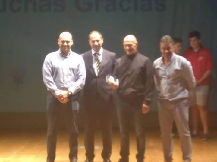Premio rugby Colegio Santa María del Naranco