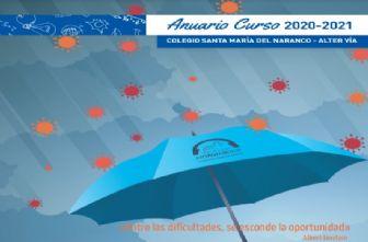 Anuario portada Colegio Sta. María del Naranco