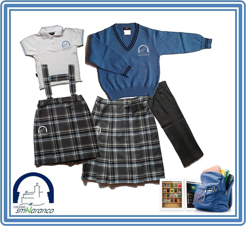uniforme vestir Colegio Sta. María del Naranco