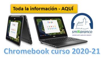 chromebook Colegio Santa María del Naranco