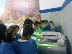 Uso de la fotocopiadora
