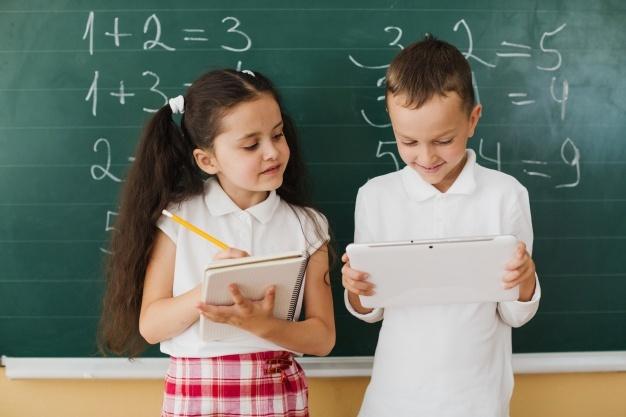 niños matemáticos